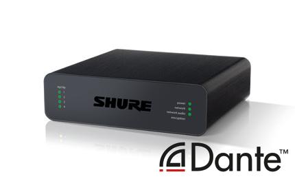4-канальный сетевой аудио интерфейс Dante Mic/Line с блочными входами (аудио + логика) ANI4IN-BLOCK