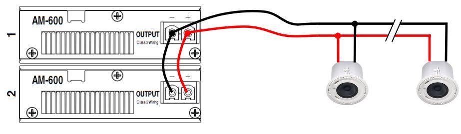 Модуль усилителя мощности до 600Вт для AudiaFUSION, пассивный мониторинг линии AM 600