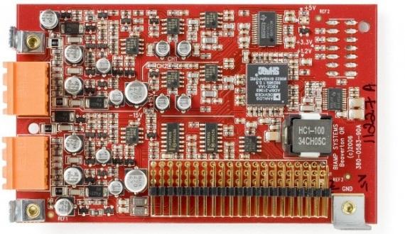 2-канальная карта аудиовходов с процессором эхоподавления для AudiaFLEX AEC-2HD
