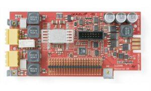 2-канальная карта выходов с усилителем мощности для AudiaFLEX PA-2