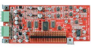2 канальная карта MIC/LINE аудиовходов с поддержкой фантомного питания для AudiaFLEX IP-2