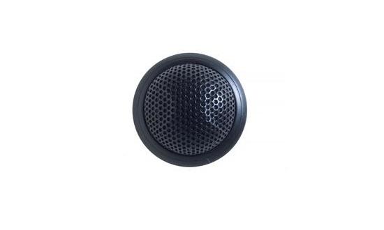 Низкопрофильный врезной конденсаторный микрофон, всенаправленный, черный цвет, 3-pin XLR MX395B/O