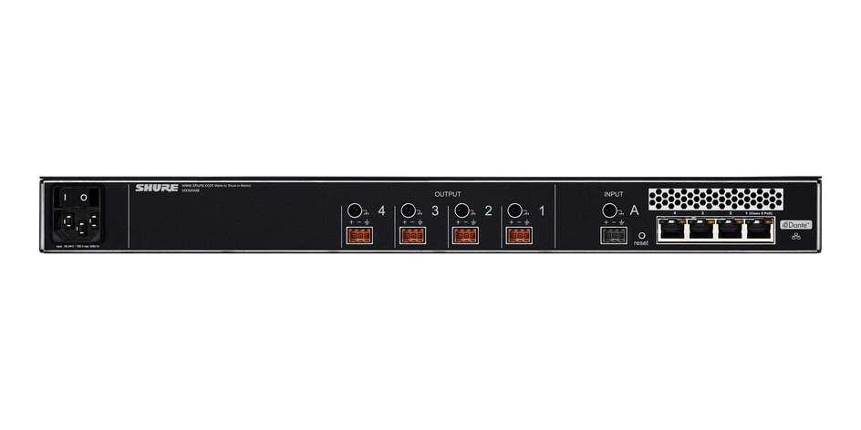 Сетевой аудио интерфейс 4-канальный MXWANI4