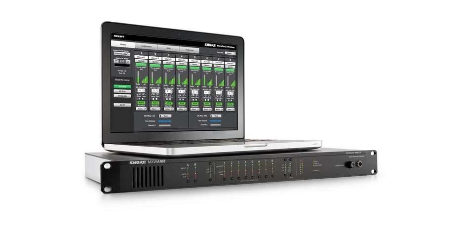 Сетевой аудио интерфейс 8-канальный MXWANI8