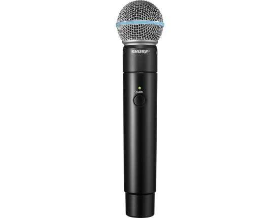 Динамический ручной радиомикрофон для вокала и речи MXW2/BETA58