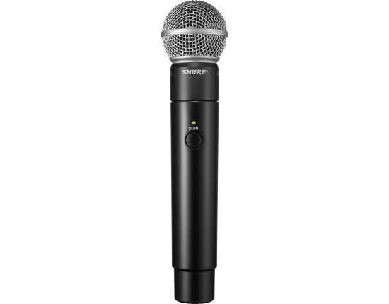 Ручной радиомикрофон для вокала и речи MXW2/SM58