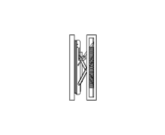Настенное крепление для панелей 46″, черный цвет с механизмом выдвижения Wall Mount 46″ Push in/out