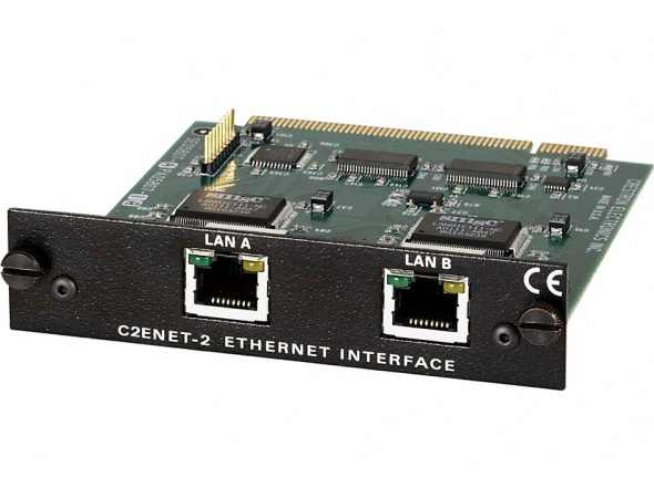 Карта расширения с двумя Ethernet-портами для процессоров 2-й серии для установки в слот расширения Z-Bus 10/100BaseT C2ENET-2